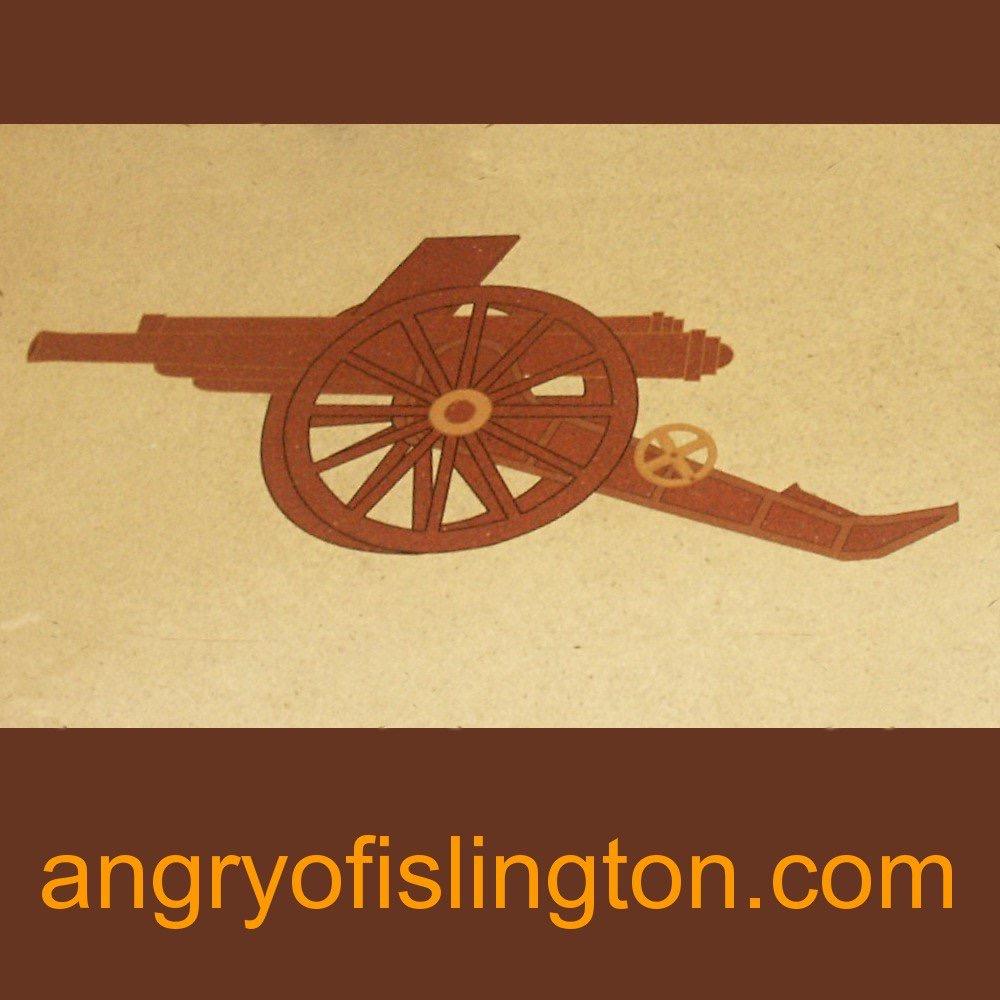 Angry Of Islington logo